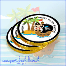 Pirate Party Chocolate Coins