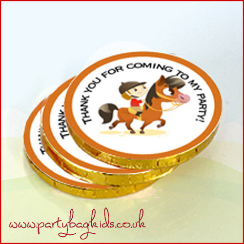 Pony Party Chocolate Coins