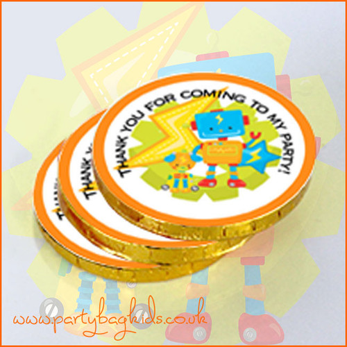 Robot Chocolate Coins