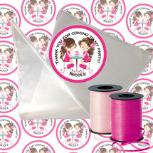English Tea Party Candy Cone Kit