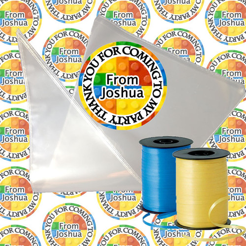 Brick Building Candy Cone Kit