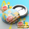 Construction Pin Badge