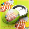 Circus Party Pin Badge