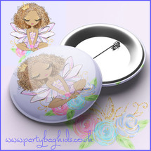 Fairy Princess Pin Badge