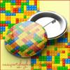 Building Bricks Party Pin Badge