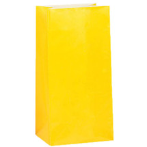 Yellow Paper Party Bag