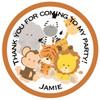 Safari Party Sticker