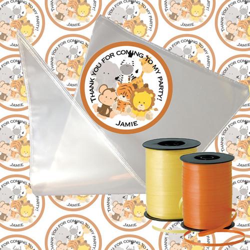 Safari Animal Candy Cone Kit