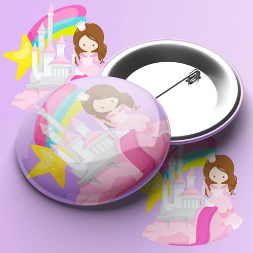 Princess Pin Badge