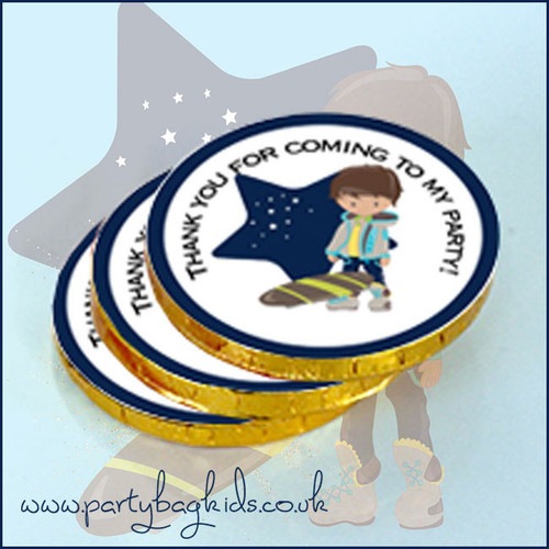 Mischief Maker Themed Chocolate Coins