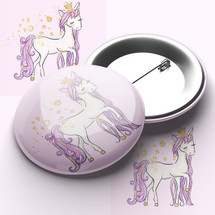Cute Unicorn Pin Badge