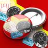 Movie Night Pin Badge