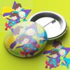 Super Hero Pin Badge