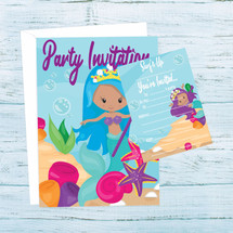 Mermaids Party Invitations