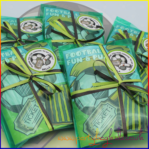 Football Whistle Party Bag