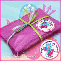 Mermaids Trident Pre-Filled Party Bag in Hot Pink