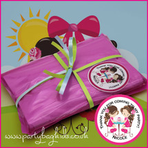 English Rose Tea Party Bag in Hot Pink