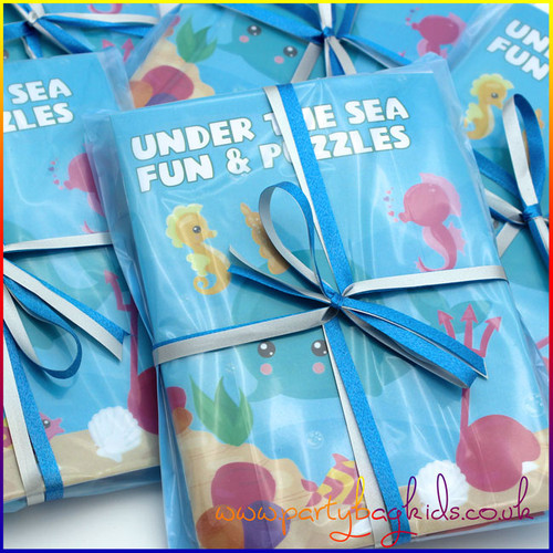 Under the Sea Party Bag in Baby Blue