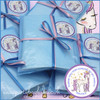 Unicorn Princess Personalised Party Bag in Baby Blue