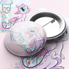Magical Dragon Party Pin Badge