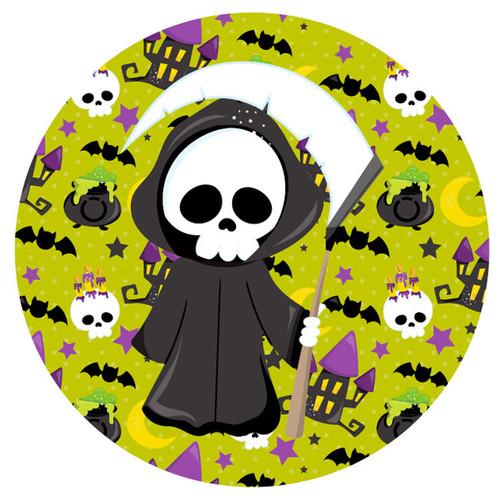 Grim Reaper Party Bag Seals