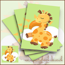 Baby Giraffe Notebooks