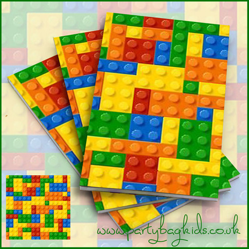 Building Brick Notebooks