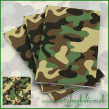 Camouflage Notebooks