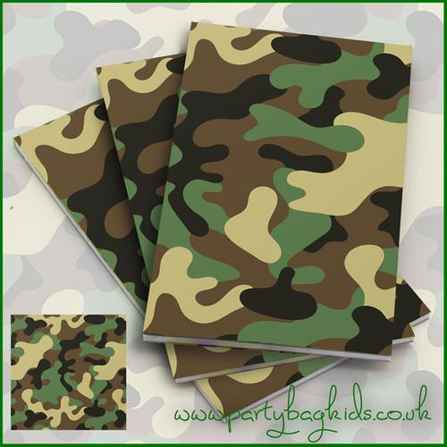 Camouflage Notebooks