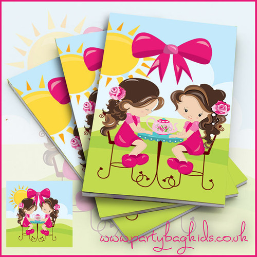 English Rose Tea Party Notebook