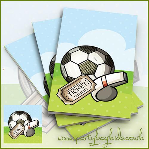 Football Whistle Notebooks