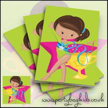Gymnastics Themed Notebooks