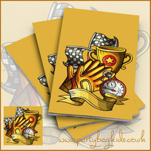 Karting Themed Notebooks