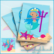 Mermaids Trident Notebook