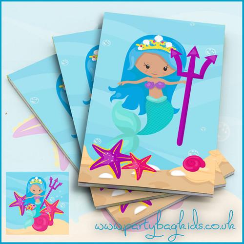 Mermaids Trident Notebook