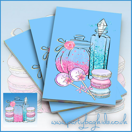 Pamper Party Notebooks