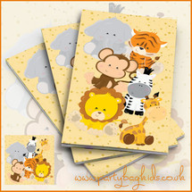 Safari Themed Notebooks