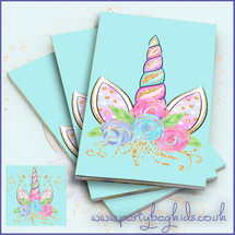 Unicorn Crown Notebooks