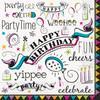 Doodle Birthday Napkins