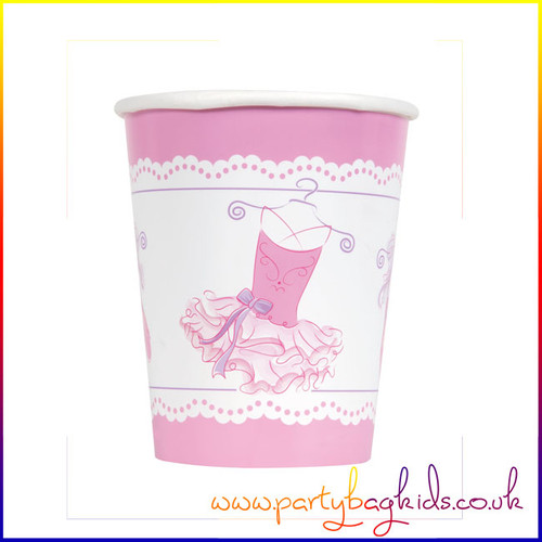 Pink Ballerina Party Cup