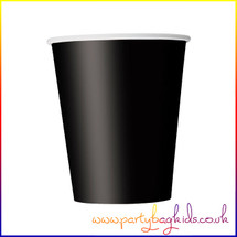 Midnight Black Paper Cup