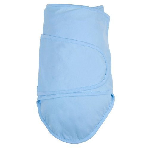 Miracle Blanket - Baby Swaddling Blanket - Blue Newborn to 14 weeks  Newborn to 14 weeks