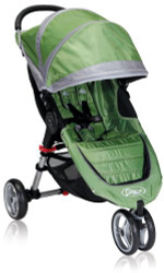 Baby Jogger 2012 City Mini Single Stroller, Green/Gray