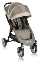 Baby Jogger City Mini 4-Wheel stroller- Sand Stone - BJ10357