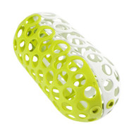 Boon, Inc.  CLUTCH Dishwasher Basket - Green + White B10035