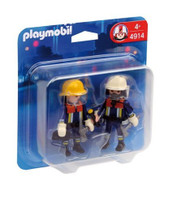 Playmobil 4914 Duo Pack Firefighters
