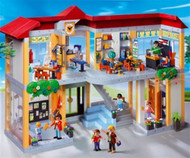 Playmobil 4324 School Set Furnished School Building