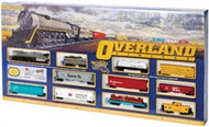 Bachmann HO Scale Overland Limited (Union Pacific) Train Set - 00614