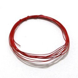Detail Master .0125 Red Ignition Wire Car Model Kit Accessory - 1025