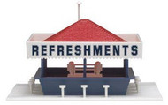 Atlas HO Scale Refreshment Stand Kit - 715